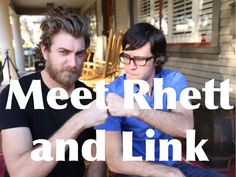 Meet Rhett and Link! I NEED TO DO THIS!!!!!!!! Someone please get me tickets for the next flight to L.A.