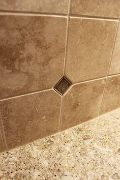 Allen Roth Beige Natural Stone Mosaic Subway Indoor