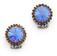 Prettiest blue earrings...
