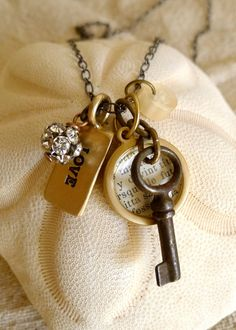 Lover's Key Necklace