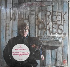 c.w.mccall | C.W. McCall Wolf Creek Pass Vintage Record Album Vinyl LP