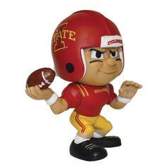 Iowa State Cyclones NCAA Lil Teammates Vinyl Quarterback Sports Figure (2 3-4 Tall) (Series 2)