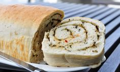 rolled Focaccia