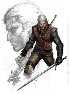 The Witcher 2-Geralt by YamaO.deviantart.com on @deviantART