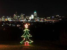 Christmas over Cincinnati.  #ilikeitheresometimes #teampixel #cincinnati