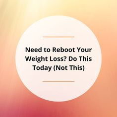 Life has a way of stealing your focus. If you've lost your focus on healthy habits, you may be looking to get your weight loss back on track. In this post, I'll share how to exercise, fast, and eat to effectively and sanely reboot your weight loss. Weight Loss Goals, Healthy Weight Loss, Back On Track, Losing You, Superfoods, Healthy Habits, Exercise, Lost, Ejercicio