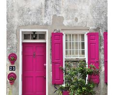 #porta # janela #pink