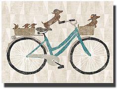 Doxie Rider Canvas!