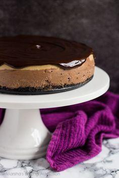 Layered Mocha Cheesecake Recipe