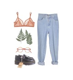 """""""images of broken light which dance before me like a million eyes"""" by missnyssa on Polyvore featuring Eres and Dr. Martens"""