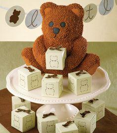 Teddy Bear Cake & Favors