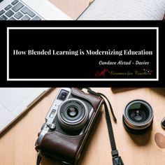 Now, the world revolves around the internet, how it can benefit the education system, and how it has helped modernize education via blended learning.