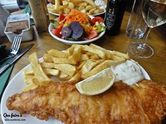 Fish & chips at Bankers - Brighton - England. The best