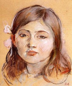 Portrait of Julie Berthe Morisot - 1889