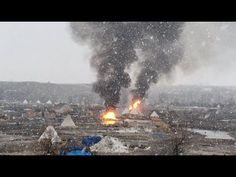 HEARTBREAKING: Standing Rock Camp Burns Before Raid