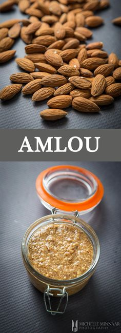 Amlou - This Amlou recipe, made out of roasted almonds, honey and Argan oil, is a great alternative spread or dip if you're looking for something different. #Breakfast #Brunch #DairyFree #GlutenFree #Jams #Jellies #Moroccan #Vegan #WheatFree #amlou #almonds #arganoil