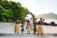Intimate #BeachWedding at #NavutuStarsFiji #Fiji #destinationwedding