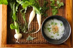 radish and rice