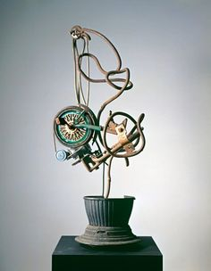 The Works Of Jean Tinguely Jean Tinguely Selected Works Art And Famous Pictures Jean Tinguely, Yves Klein, Hiroshima, Velo Design, Jean Arp, Art Sculpture, Concrete Art, Kinetic Art, Museum