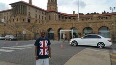 At Union buildings, Pretoria, South Africa #MashigoFest2015