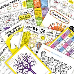Free downloads to help with back to school, anxiety, stress, depression and concentration