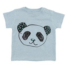 Soft Gallery Baby Ashton Pandot T-Shirt In Sky Blue | Scandi Mini