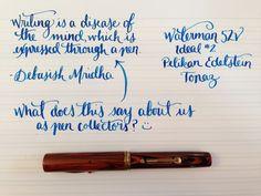 Handwritten Post. Pen Collecting