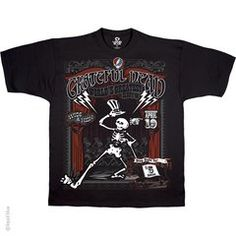 Grateful Dead Show Time T-Shirt by LIQUID BLUE
