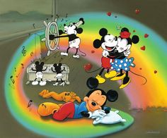 What Does Mickey Dream by Jim Warren