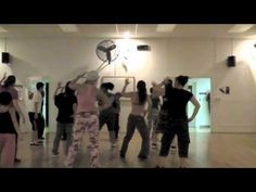 This one is from almost 3 yrs ago before the days of Zumba for me.  It's an oldie but we all enjoyed doing it regardless.  (I do not own the rights to this song.)
