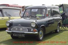 Ford Motor Company, Ford Anglia, Old Lorries, Mini Bus, Morris Minor, Cars Uk, Bus Coach, Old Fords, Ford Escort