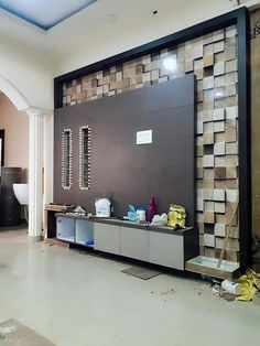 Most Design Ideas Modern Tv Unit Decoration Ideas 2019 Pictures, And Inspiration – Modern House Tv Unit Furniture Design, Tv Unit Interior Design, Residential Interior Design, Home Interior, Lcd Unit Design, Lcd Wall Design, Ceiling Design, Tv Cupboard Design, Tv Cabinet Design Modern