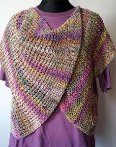 Knitting Patterns Jacket I knitted a 'thing'. Knitted with 4 and 8 needle. I have made 70 stitches, 2 stitches … Quilt Patterns Free, Knitting Patterns, Crochet Patterns, Crochet Stitches Free, Knit Crochet, Jacket Pattern, Beautiful Crochet, Jumpsuits For Women, Diy Clothes