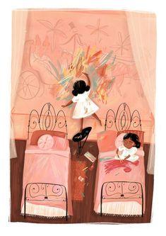 Children's Book Illustration, Digital Illustration, Portrait Illustration, Watercolor Illustration, Illustrations Posters, Kids Playing, Art For Kids, Adobe Illustrator, Illustrator Tutorials