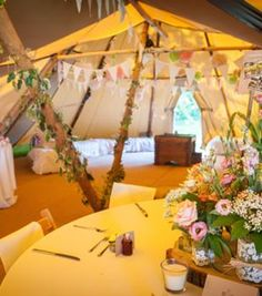 Lots of details from this gorgeous tipi wedding Tipi Wedding, Magical Wedding, Garden Wedding, Wedding Table, Wedding Events, Our Wedding, Dream Wedding, Wedding Stuff, Wedding Ideas