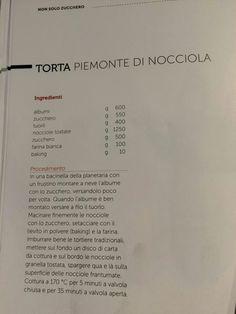Torta Piemonte di nocciole di Iginio Massari