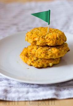 Sormiruokailijan porkkana-linssipihvit - Mini Pumpkin - Vauva