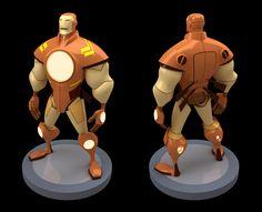 Iron Man Design by Sean Galloway Modeled by Luis Gomez Guzman