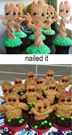 The moral of the story is: let your cakes cool before icing them.