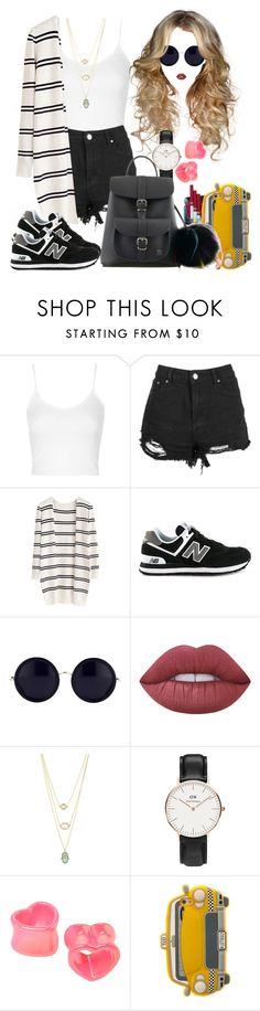 """""""#199"""" by princeps-1 ❤ liked on Polyvore featuring Topshop, Boohoo, New Balance, The Row, Daniel Wellington, TAXI and Grafea"""
