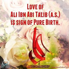 Ali son of Abi Talib is the sign of pure birth Hassan Hussain, Imam Hassan, Imam Ali Quotes, Quran Quotes, Qoutes, Religious Quotes, Islamic Quotes, Islamic Art, Shia Islam