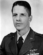 Rudolf Anderson shot down in a U2 during the Cuban Missile Crisis in 1962