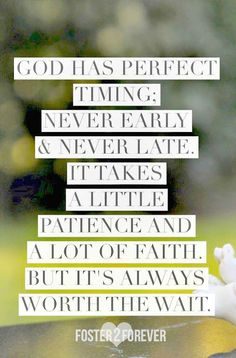 Gods timing is PERFECT! Have FAITH! #angels