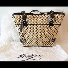 I just added this to my closet on Poshmark: Brighton Tote. Price: $130 Size: OS