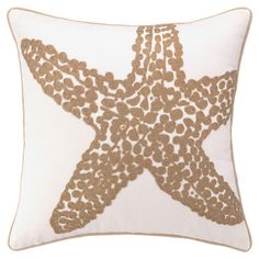 I pinned this Starfish Pillow I from the Seaside Chic event at Joss and Main!