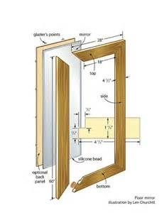 Woodworking Plans Free Standing Mirror - The Best Image Search