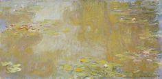 Les nymphéas à Giverny - Claude Monet, 1917, Musée des beaux-arts de Nantes, France  www.museedesbeauxarts.nantes.fr