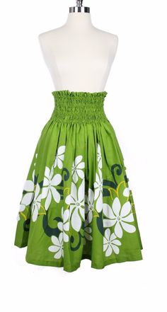 Made In Hawaii -- Hawaii Hangover Hula Dance Skirts Wide Waist ( around 5 inches), Double Layer around Waist,  Full Elastic, Adjustable by Tie  High Quality Material, 100% Cotton  More patterns avaiable  On May-22-16 at 14:29:07 PDT, seller add...