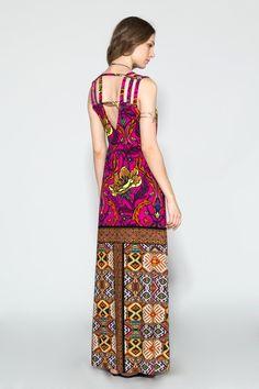 Vestido Longo Estampado Gypsy - 02014908 | Oh, Boy! - ohboy