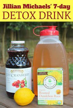 Jillian Michaels' 7-Day Detox Drink
